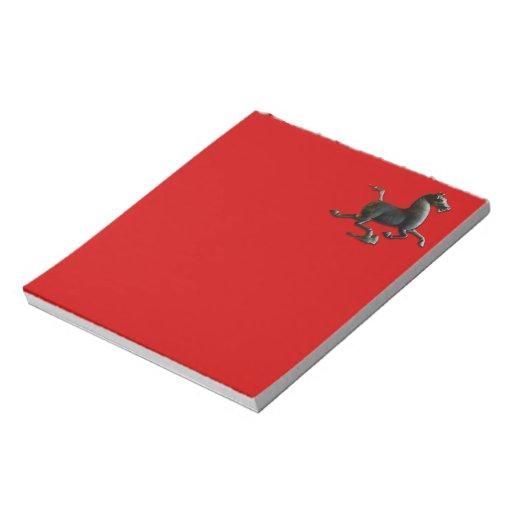 2014 años del caballo - libreta bloc