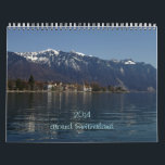 "2014 around Switzerland Calendar<br><div class=""desc"">A tour of Switzerland between mountains,  lakes and plains.</div>"