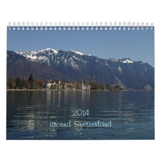 2014 around Switzerland Calendar