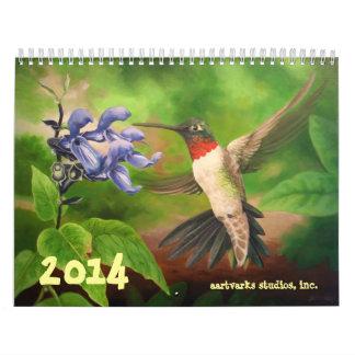 2014 Art Calendar by Aartvarks Studios