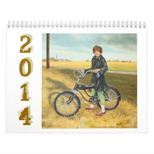 2014 Art Calendar by Conni Brenner