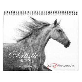 2014 Artistic Horse Calendar