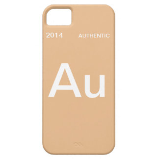 2014 Authentic - Gold iPhone SE/5/5s Case