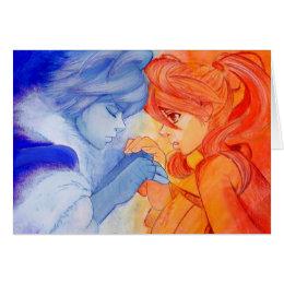 2014 Autumn Rose Valentines. Frost + Autumn Card
