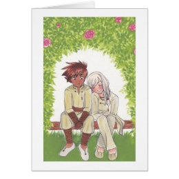 2014 Autumn Rose Valentines. Yanta + Otonashii Card