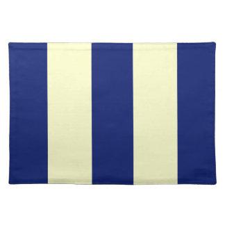 2014 azules marinos 2 y raya amarillo claro manteles