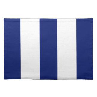 2014 azules marinos 2 y regalo blanco de Placemat Mantel