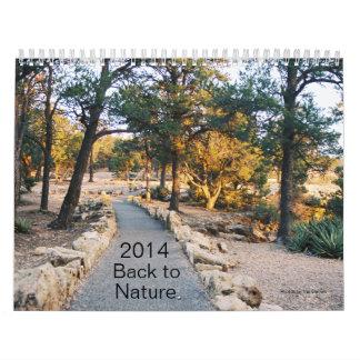 2014 Back to Nature Calendar