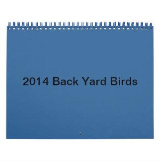 2014 Backyard Birds Calendar