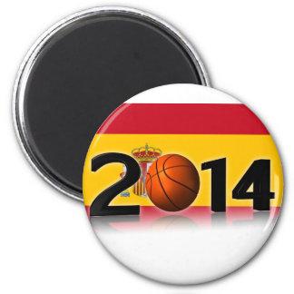2014 Basketball World Championship 2 Inch Round Magnet