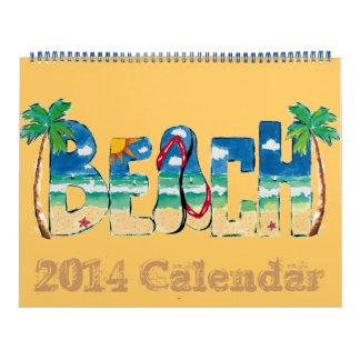 2014 Beach Calendar