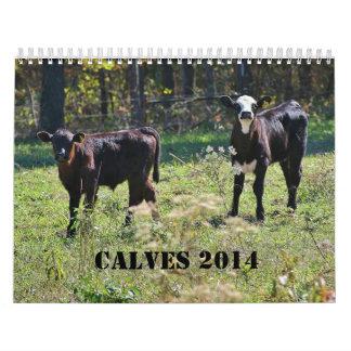 2014 becerros calendario