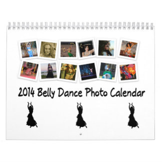 2014 Belly Dance Photo Calendar