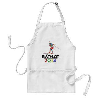 2014: Biathlon Adult Apron