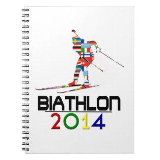 2014 Biathlon Cuadernos