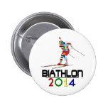 2014: Biathlon Pins