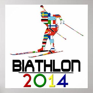 2014: Biathlon Poster
