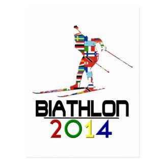 2014: Biathlon Tarjetas Postales