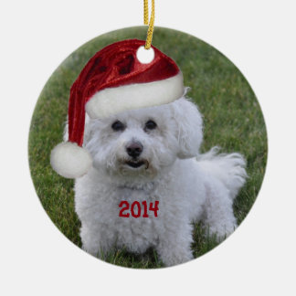 2014 Bichon Frise Ornament