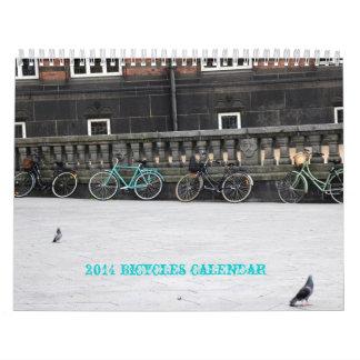 2014 bicycle calendar