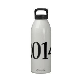 2014 Black 3D Graduation Drinking Bottles