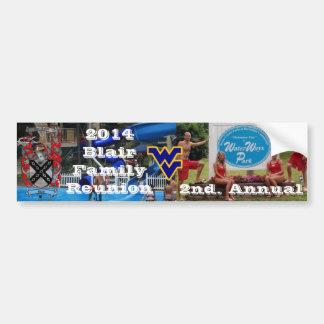 2014 Blair Family Reunion Bumper Sticker