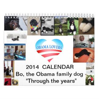 2014 Bo Calendar- Through the Years Calendar