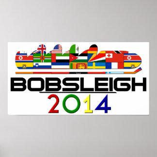 2014: Bobsleigh Poster