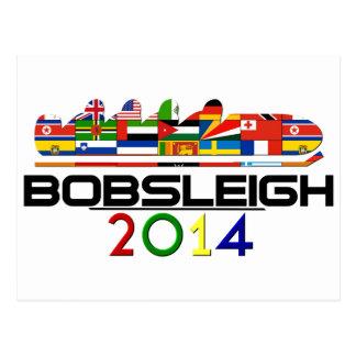 2014: Bobsleigh Tarjetas Postales