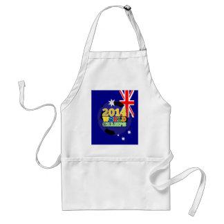 2014 bola de los campeones del mundo - Australia Delantal