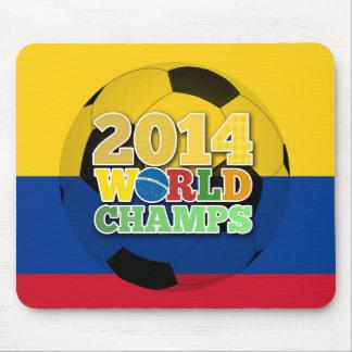 2014 bola de los campeones del mundo - Colombia Alfombrillas De Raton