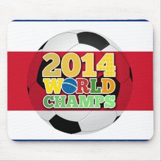 2014 bola de los campeones del mundo - Costa Rica Alfombrillas De Ratones