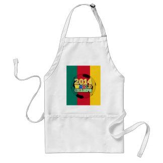 2014 bola de los campeones del mundo - el Camerún Delantal