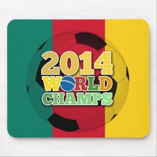 2014 bola de los campeones del mundo - el Camerún Tapetes De Raton