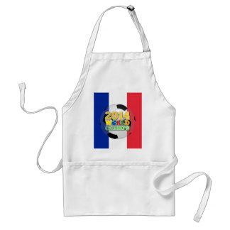 2014 bola de los campeones del mundo - Francia Delantal