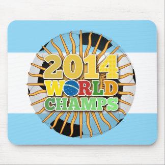 2014 bola de los campeones del mundo - la mouse pad