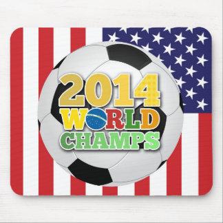 2014 bola de los campeones del mundo - los mouse pads