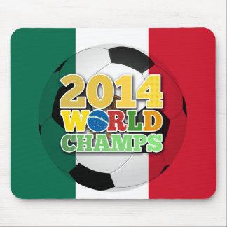 2014 bola de los campeones del mundo - México Alfombrillas De Ratón
