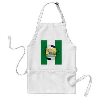 2014 bola de los campeones del mundo - Nigeria Delantal