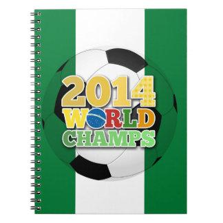 2014 bola de los campeones del mundo - Nigeria Libreta