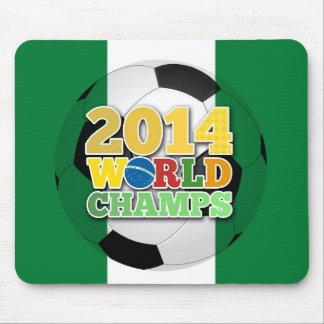 2014 bola de los campeones del mundo - Nigeria Alfombrilla De Raton