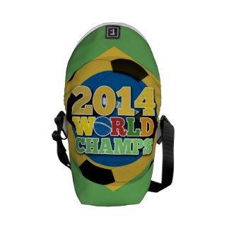 2014 bola de los campeones del mundo - sujetador bolsas de mensajeria