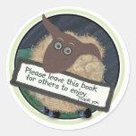 2014 Book Cover Stickers Sticker