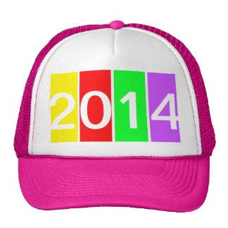 2014 BRIGHT COLORFUL CAP TRUCKER HAT