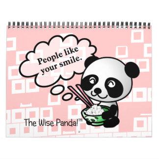 2014 buenas fortunas de la panda sabia calendario