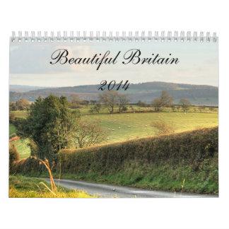2014 Calendar:  Beautiful Britain Calendar