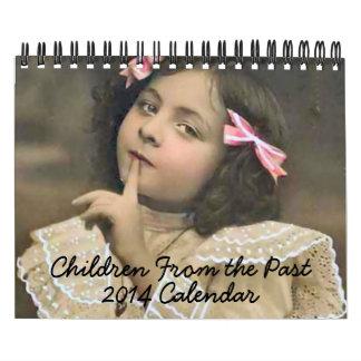 2014 Calendar - Children From the Past