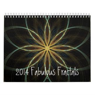2014 Calendar Fabulous Fractals