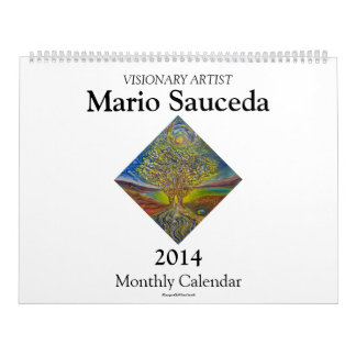 2014 Calendar featuring fine art paintings