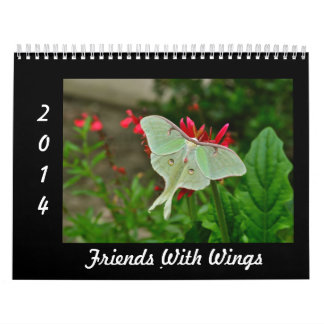 2014 Calendar - Friends With Wings